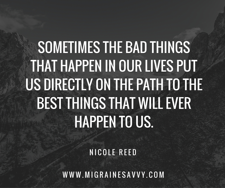 Sometimes bad things happen despite migraines @migrainesavvy