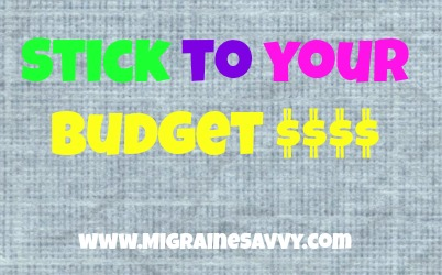 Migraine Headaches and Holidays Budget
