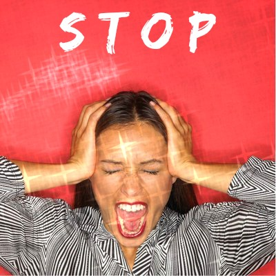 Stop Stress Related Migraine Headaches - Control Emotions