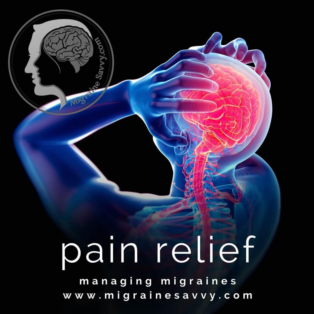 Triptans bring pain relief @migrainesavvy