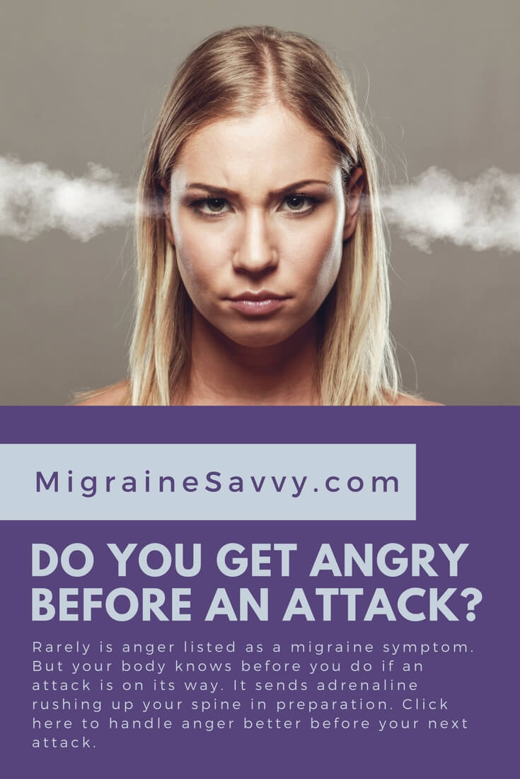 Think your anger is a migraine trigger? Think again!