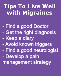 Tips to Live Well with Migraines