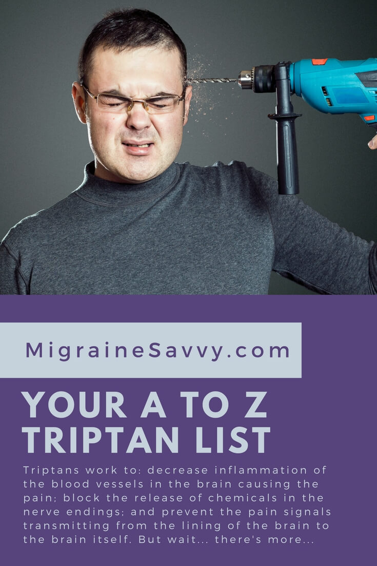 Triptan medication for a migraine is effective if... @MigraineSavvy