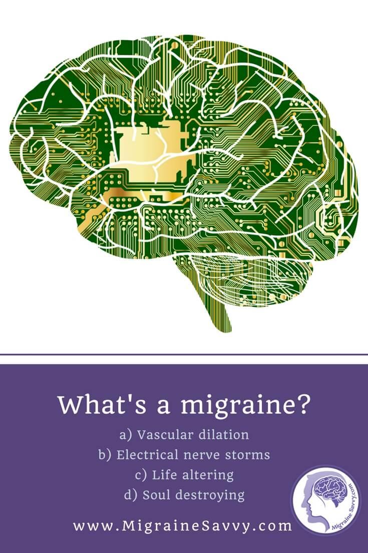 What are migraines from? @migrainesavvy #migrainerelief #stopmigraines #migrainesareafulltimejob