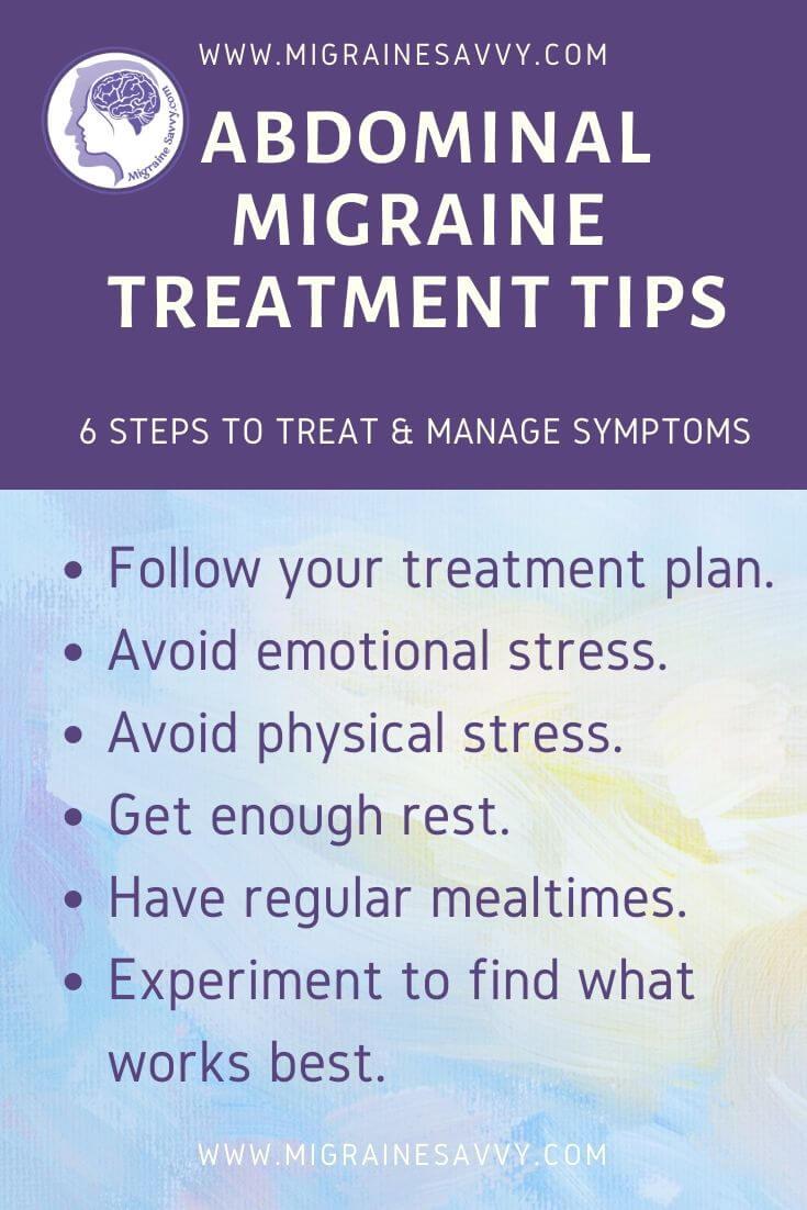 Managing Abdominal Migraine Symptoms