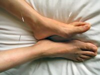 Acupuncture meridian Spleen 6