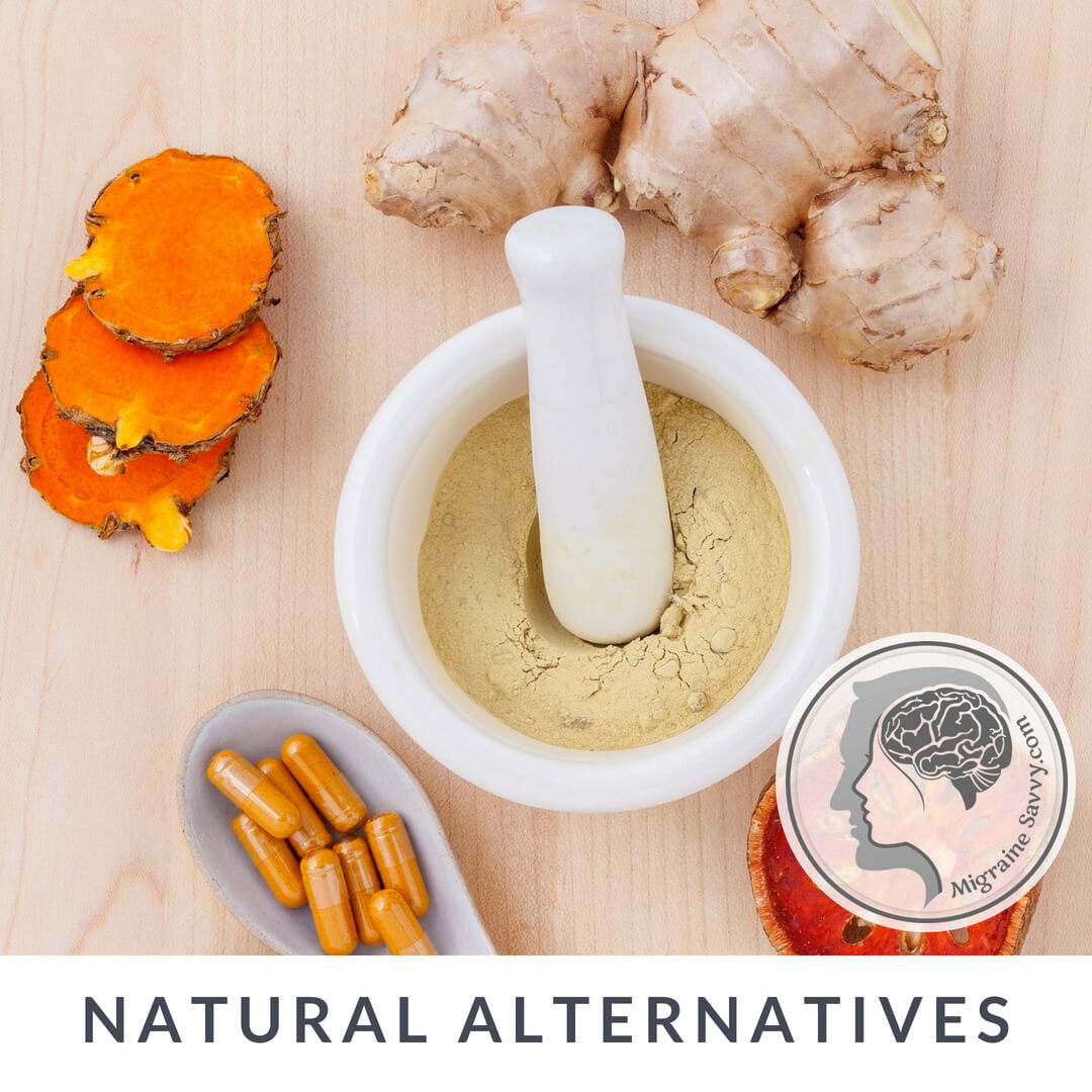 Alternative Treatment for Migraines Pestle and Mortar