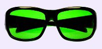 Chronic Migraine Green Tinted Lens