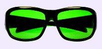 Chronic Migraine Green Tinted Lens