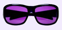 Chronic Migraine Purple Tinted Lens