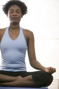 Meditation for Pain Relief Pose