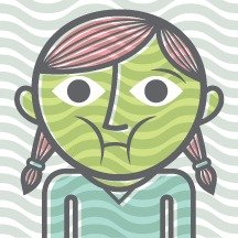 Migraine Headache Symptom Girl Turning Green