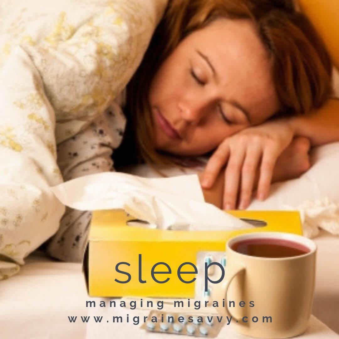 Post Migraine Symptoms Sleep