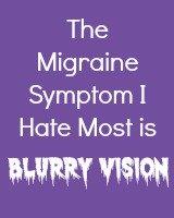 SIlent Migraine Symptom I Hate Most