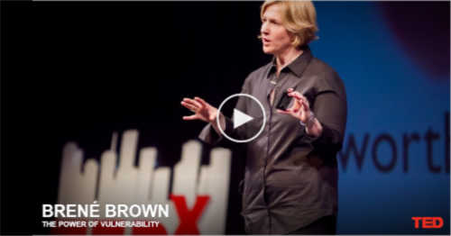 Brene Brown on Vulnerability @migrainesavvy