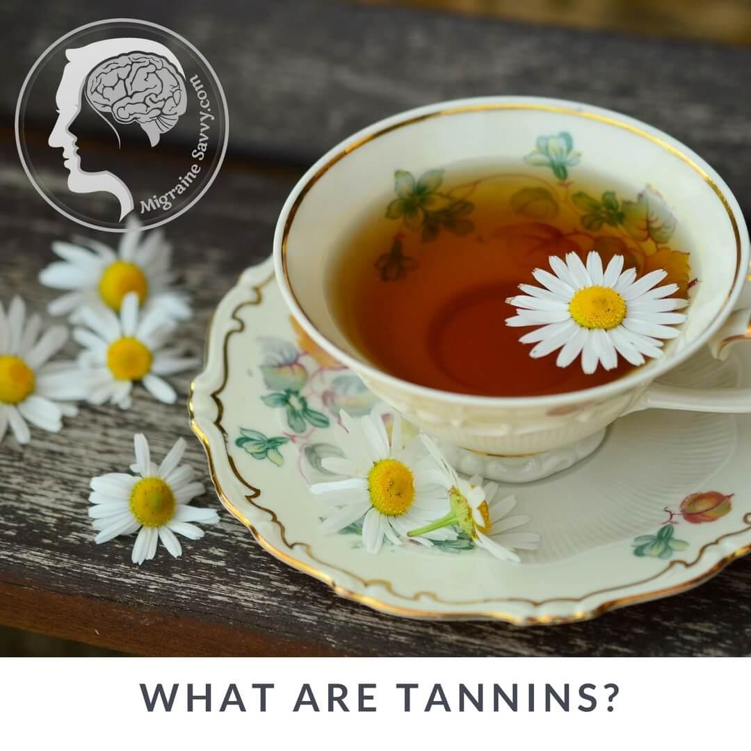 Migraine Food Trigger Black Teas is High in Tannins